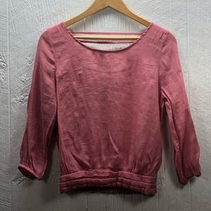 *4 for 20* Cute Mine Brand Pink Shirt Size Large
